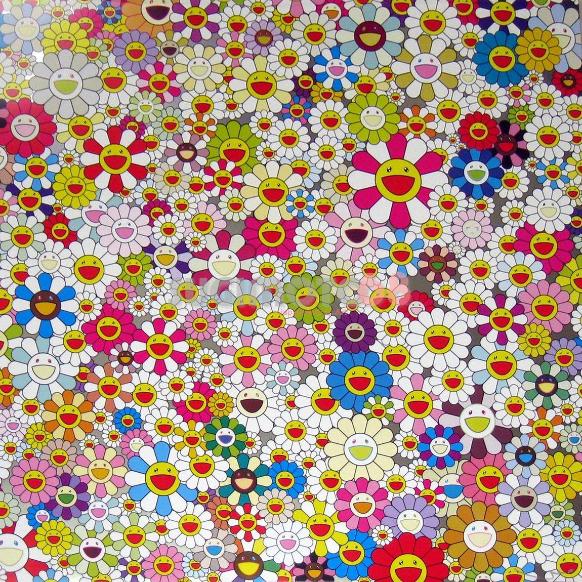 2010, Field of Smiling Flowers, weeping/sleeping, 2010 FlowSmile