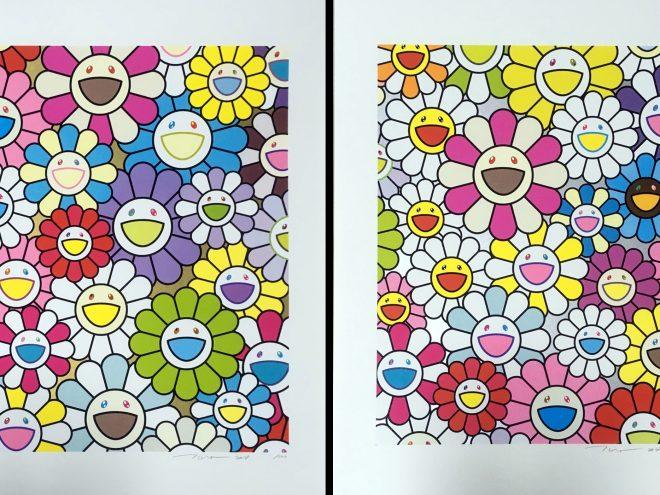 Murakami just released a couple of seminal silkscreen prints, A Little Flower Painting: Yellow, White, and Purple Flowers & A little Flower Painting: Pink, ...