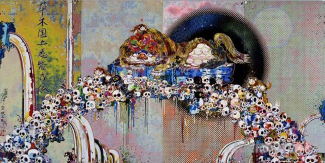 takashi-murakami-as-the-interdimensional-waves-run-through-me-i-can-distinguish-between-the-voices-of-angel-and-devil